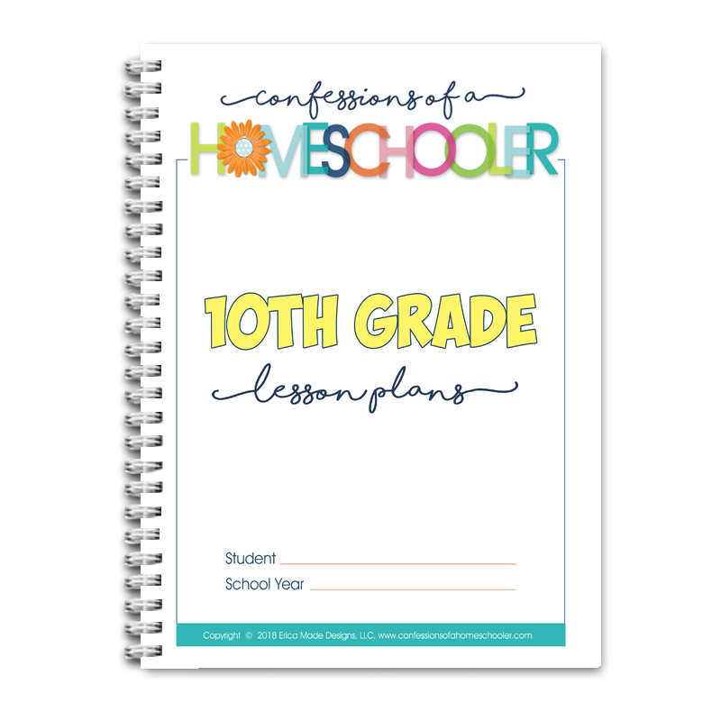 10th Grade Lesson Plans DOC (EDITABLE)