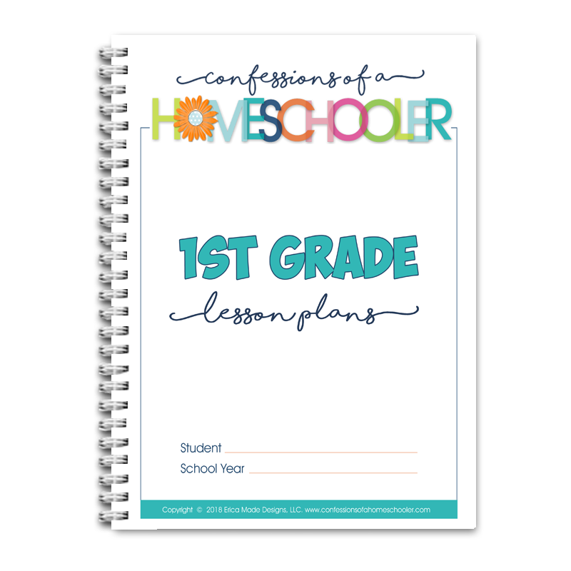 1st Grade Lesson Plans DOC (EDITABLE)