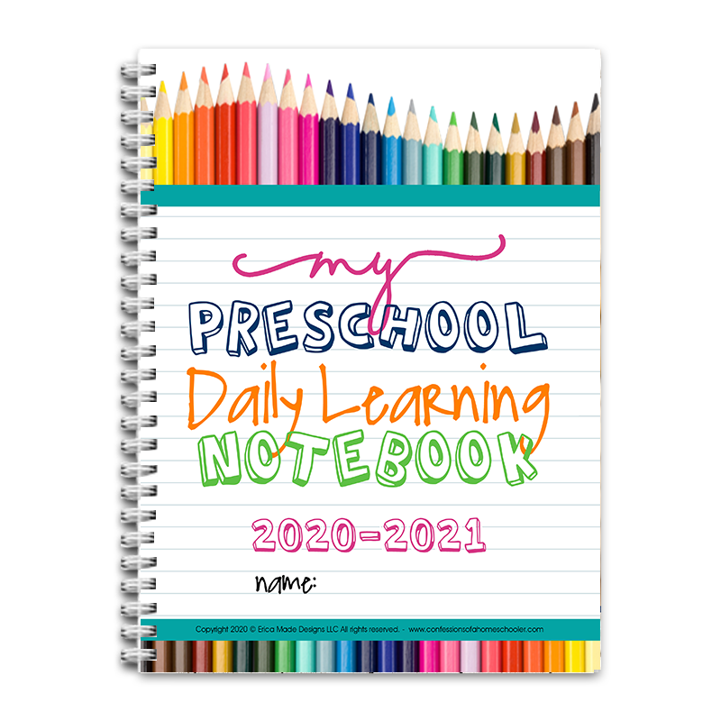 2020-2021 PreK Daily Learning Notebook PDF