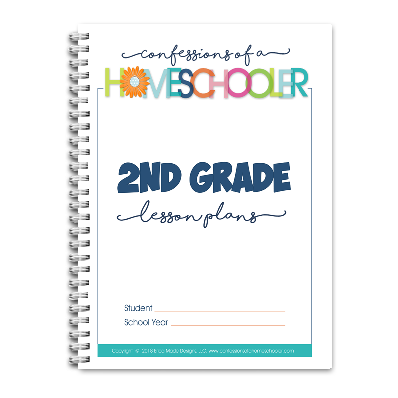 2nd Grade Lesson Plans DOC (EDITABLE)