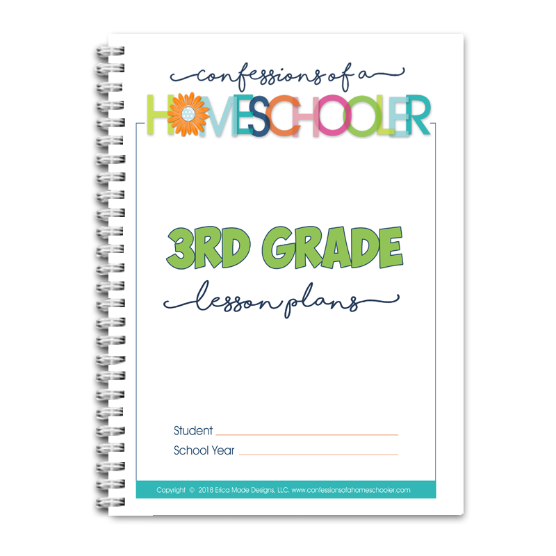 3rd Grade Lesson Plans DOC (EDITABLE)