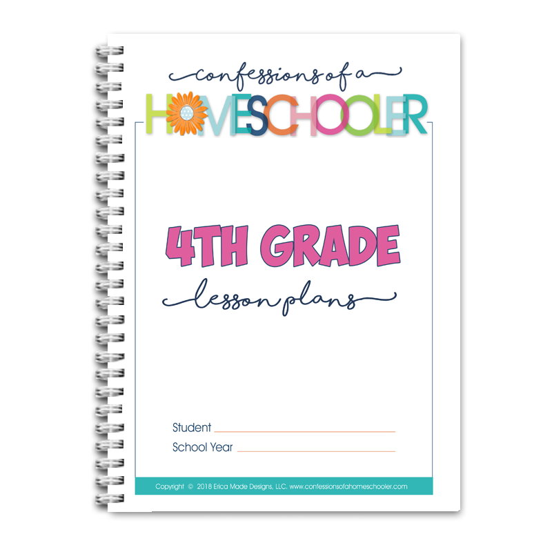 4th Grade Lesson Plans DOC (EDITABLE)