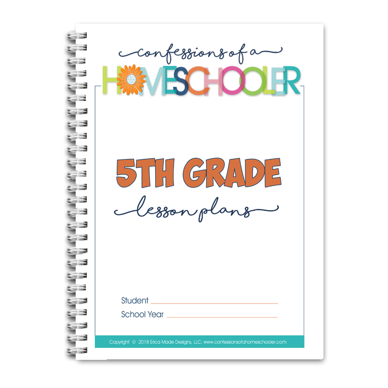 5th Grade Lesson Plans DOC (EDITABLE)