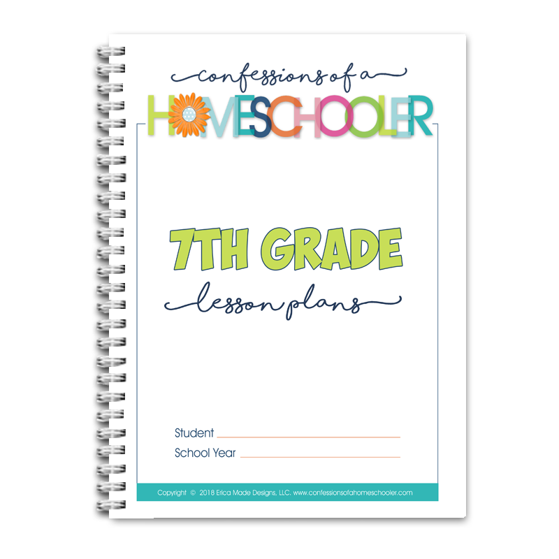 7th Grade Lesson Plans DOC (EDITABLE)
