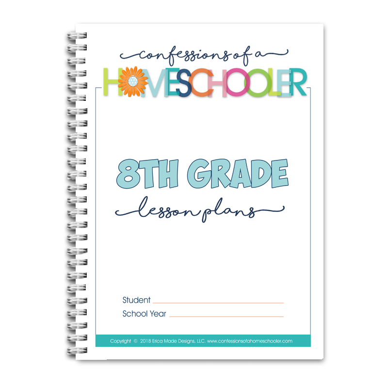 8th Grade Lesson Plans DOC (EDITABLE)