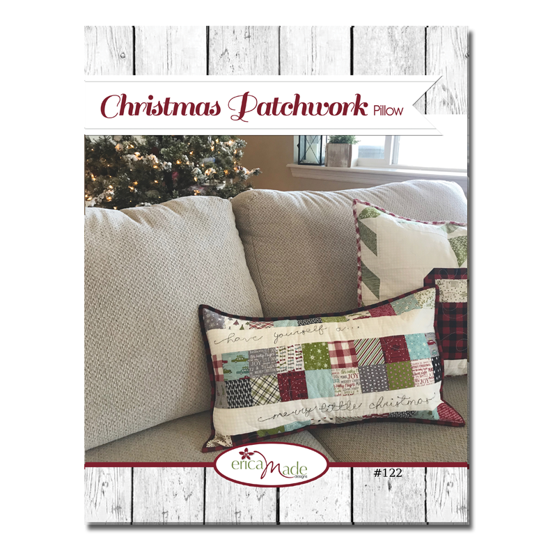 Christmas Patchwork Pillow PDF