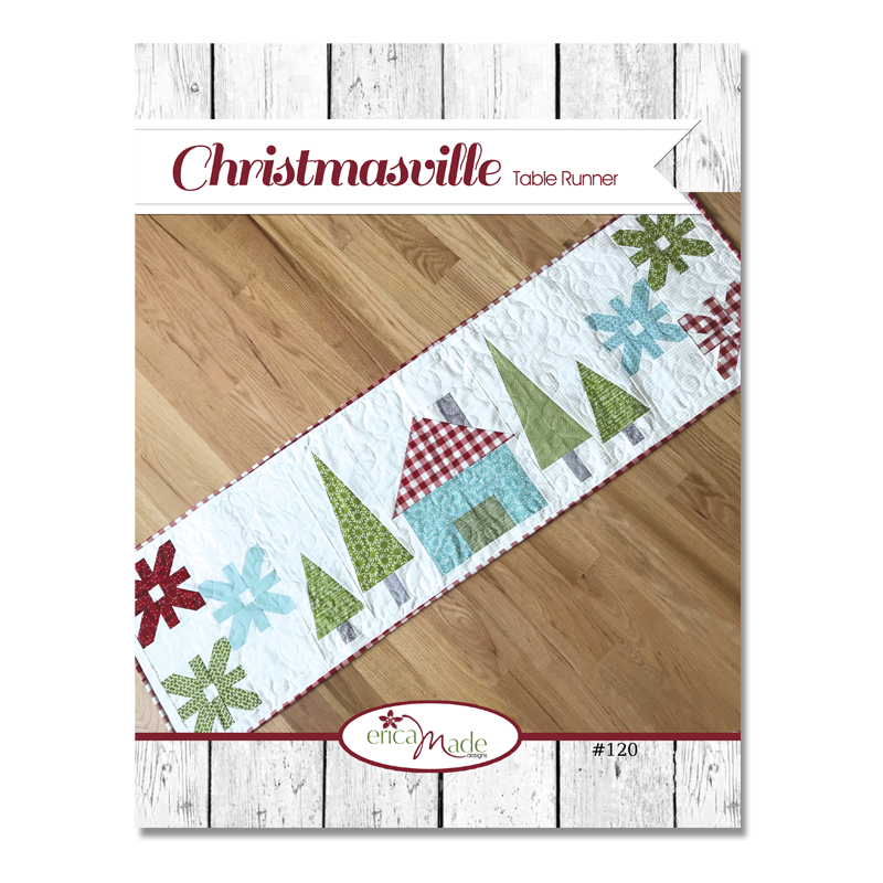 Christmasville Table Runner PDF