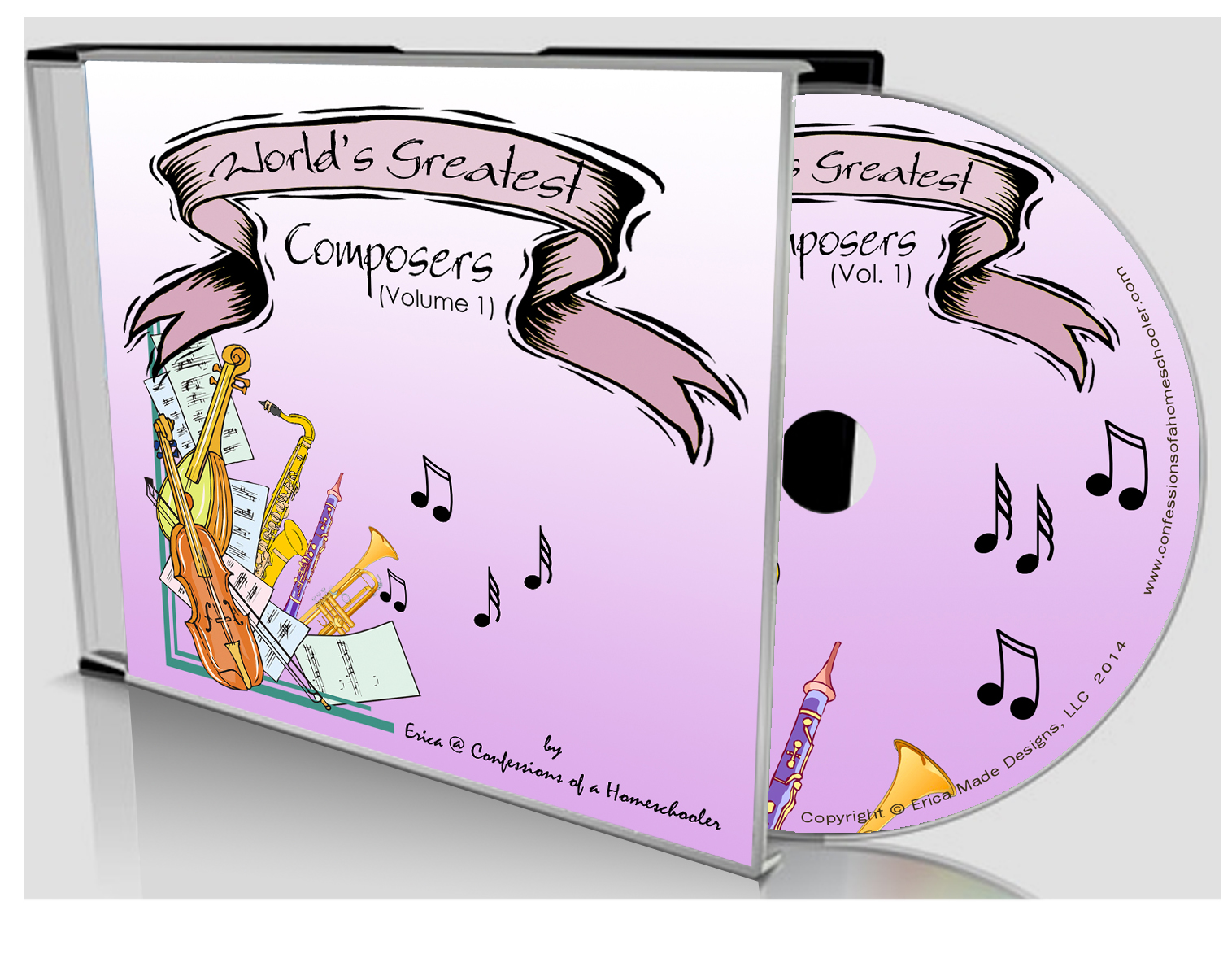 World's Greatest Composers Vol 1 - CD