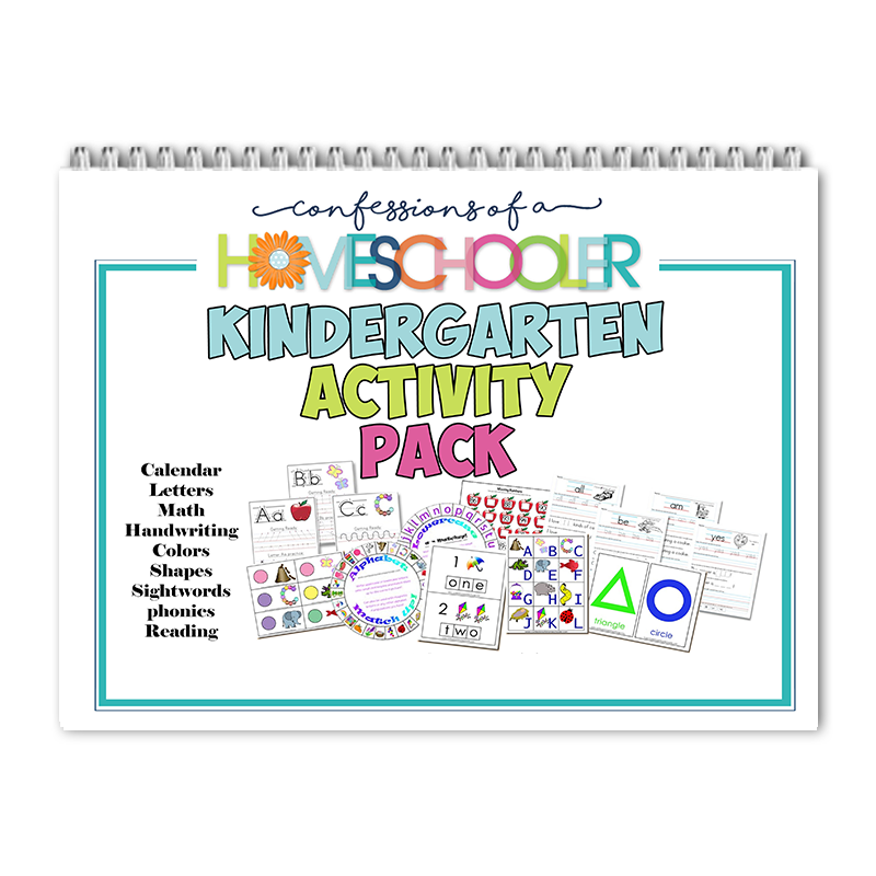 Kindergarten Summer Activity Pack PDF