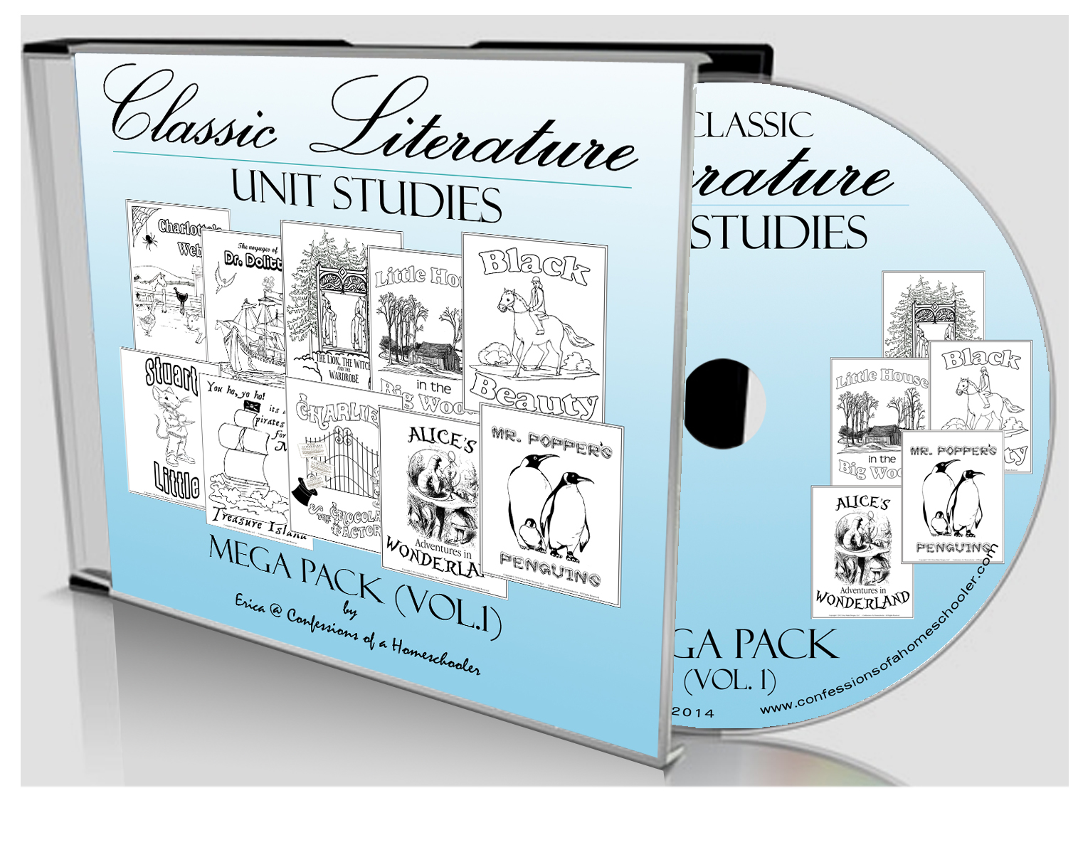 Classic Literature Volume 1 Mega Pack - CD