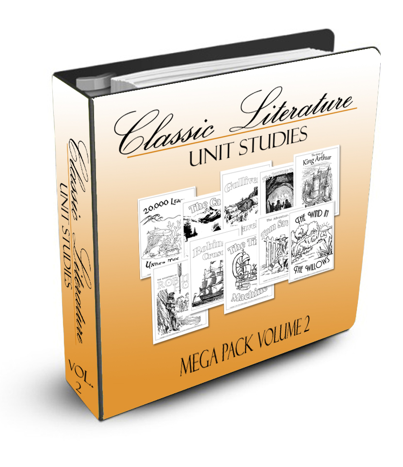 Classic Literature Mega Pack Volume 2 - CD