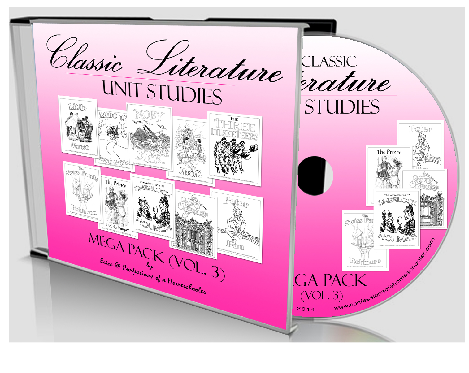 Classic Literature Mega Pack Volume 3 - CD