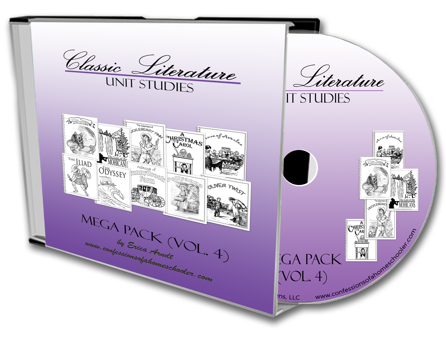 Classic Literature Mega Pack Vol. 4 - CD