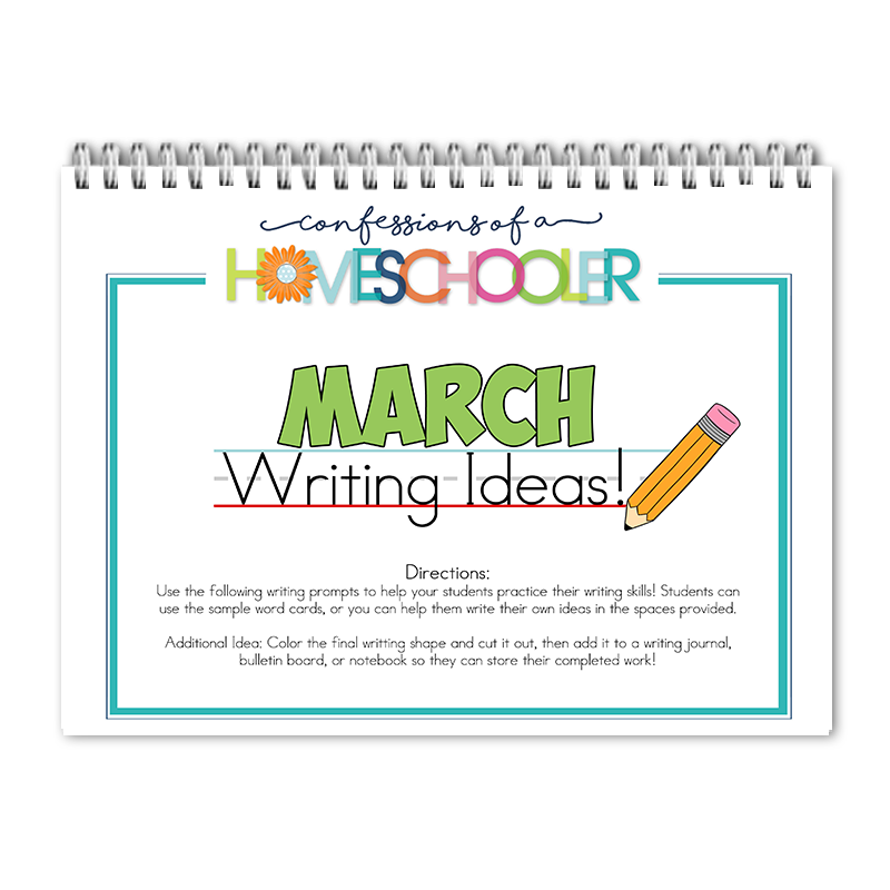 March Writing Prompts PDF