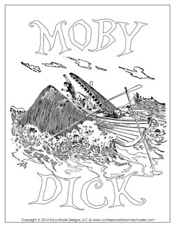 Moby Dick Unit Study