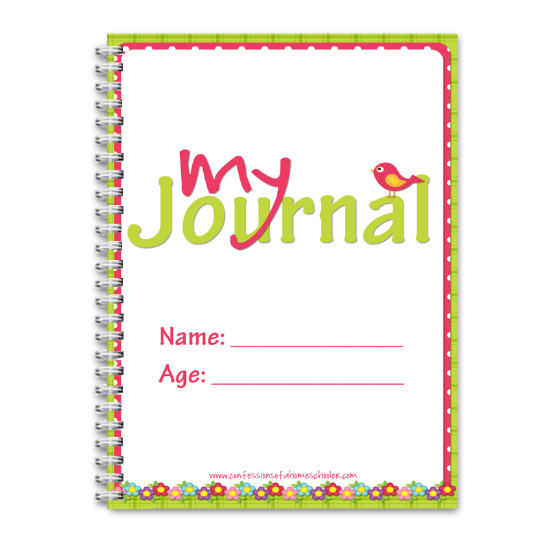 My Journal - Summer Theme - PDF