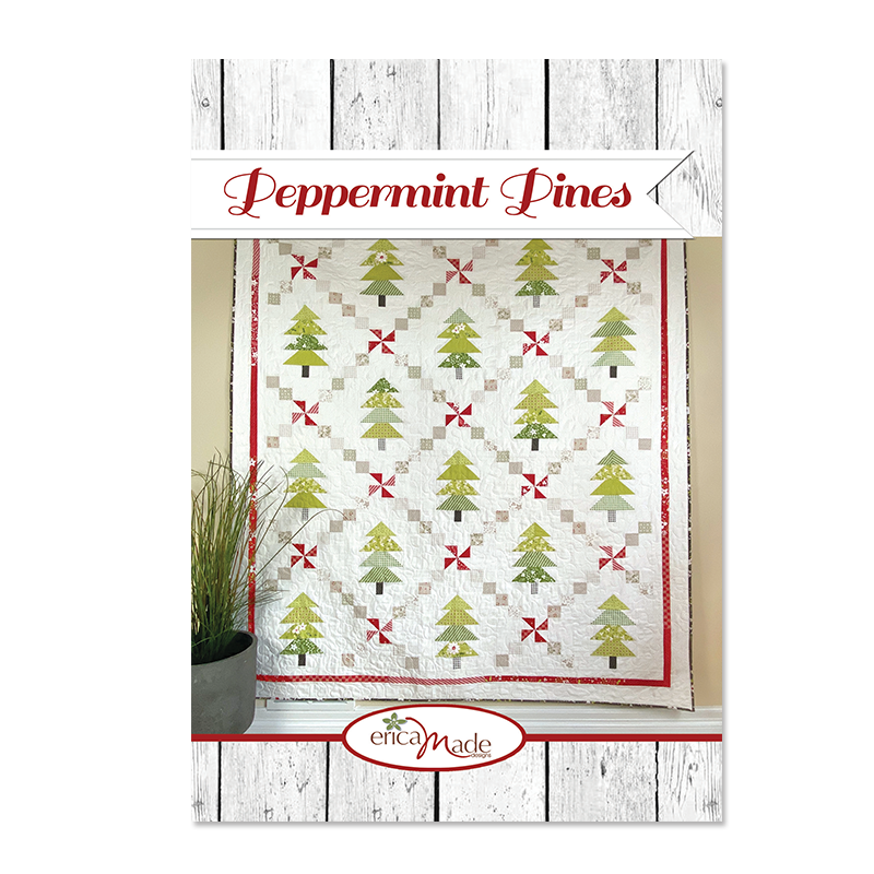 Peppermint Pines PRINT - Click Image to Close