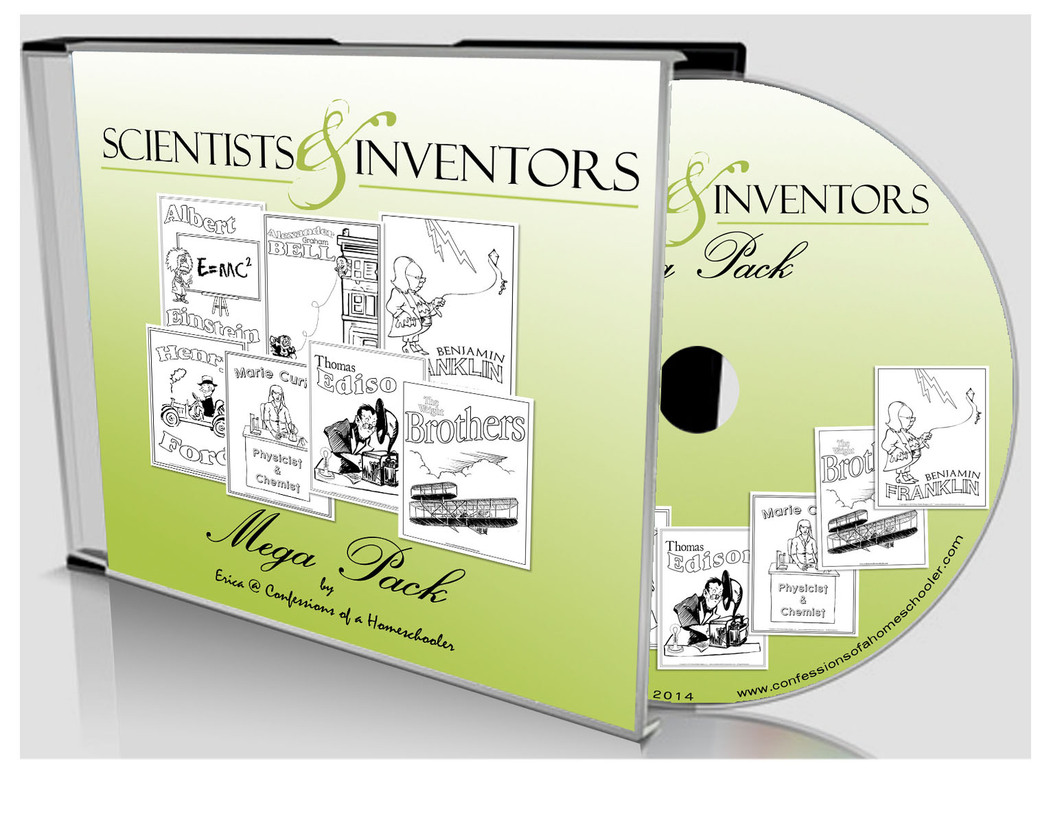 Scientists & Inventors Combo Pack - CD