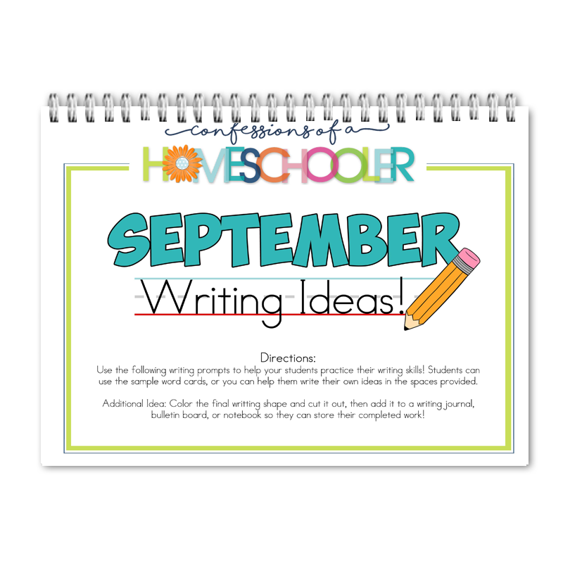September Writing Prompts PDF