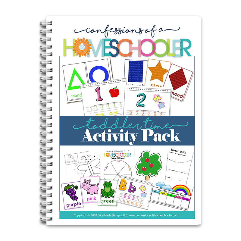 Toddler Activity Pack PDF