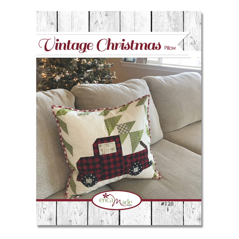 Vintage Christmas Pillow PDF