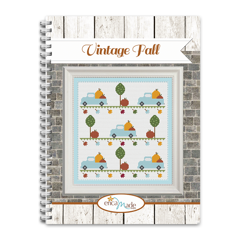 Vintage Fall Cross Stitch PDF
