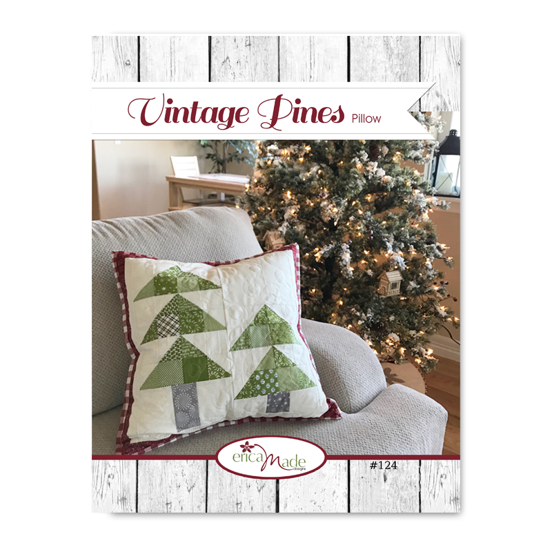 Vintage Pines Pillow PDF