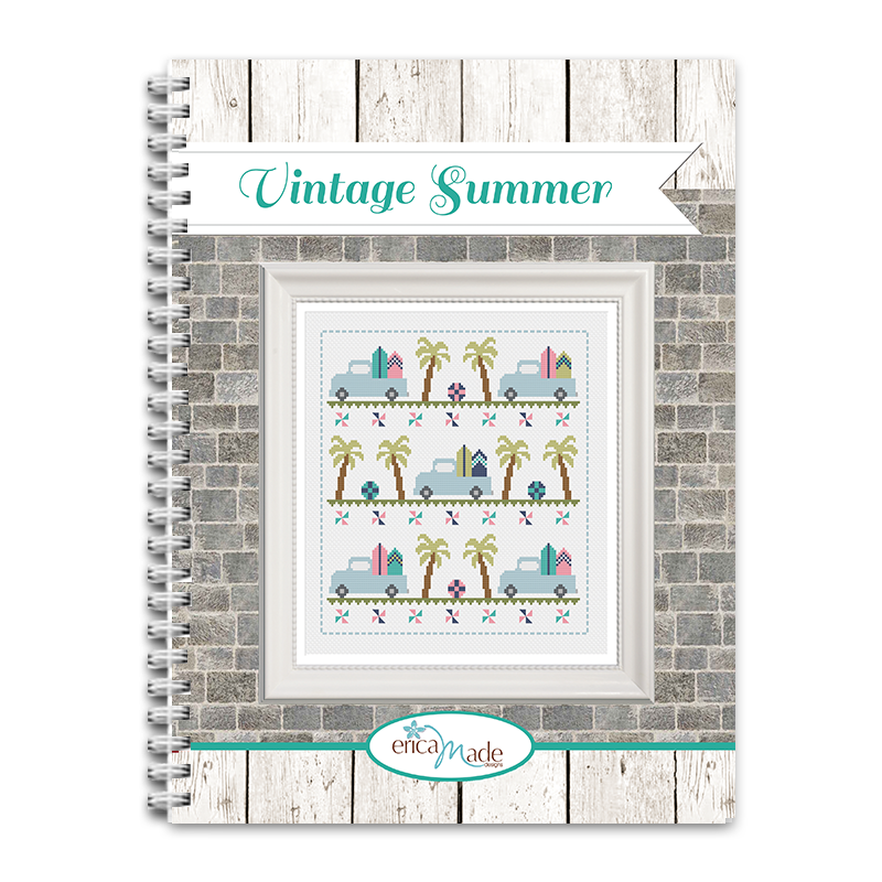 Vintage Summer Cross Stitch PDF