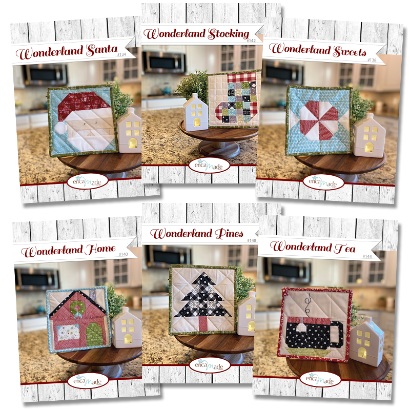 Wonderland Pot Holder Set of Six PDF
