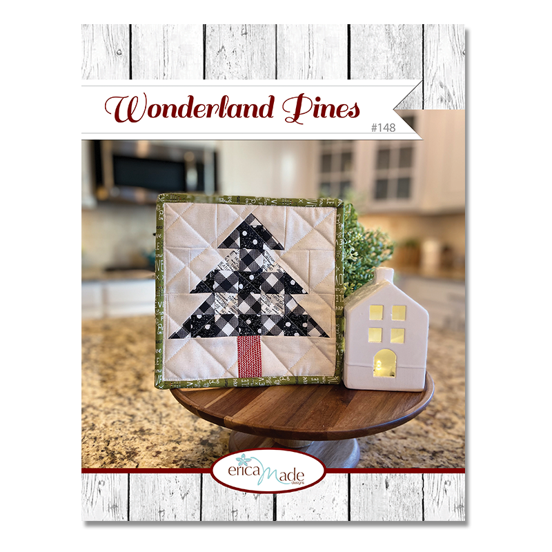 Wonderland Pines Pot Holder PDF
