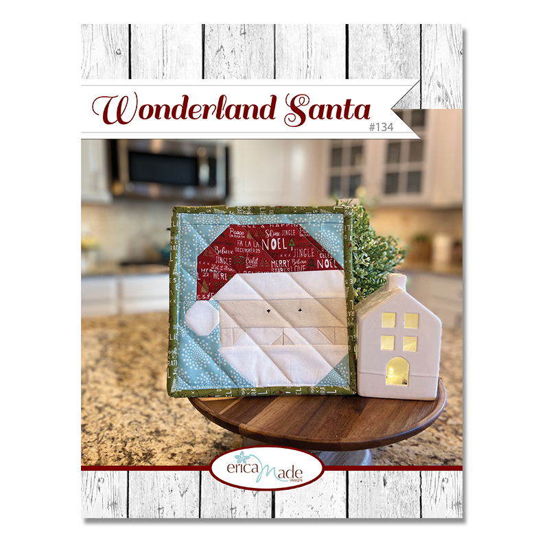 Wonderland Santa Pot Holder PDF