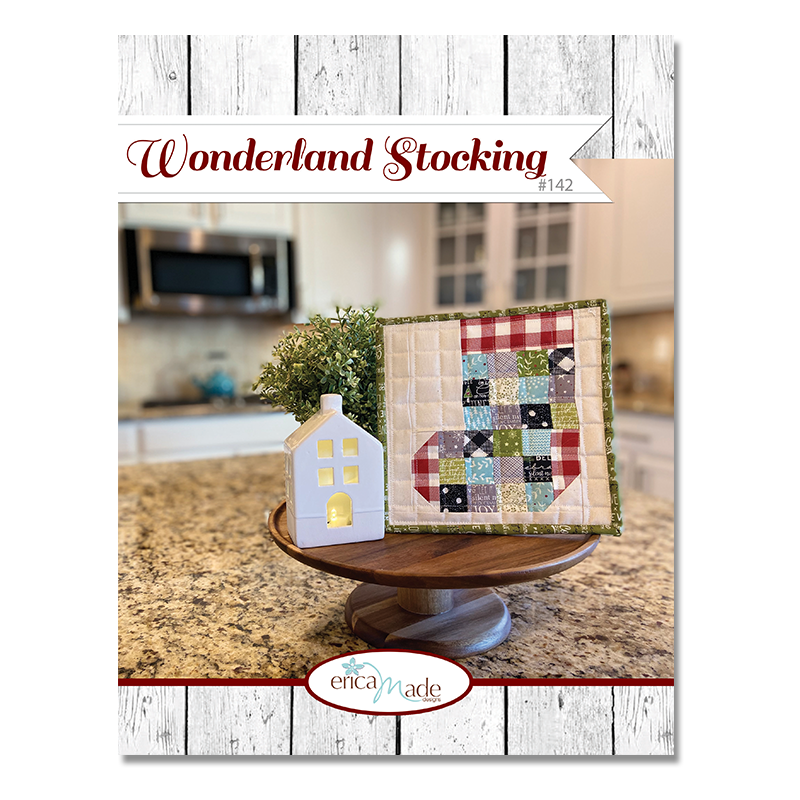Wonderland Stocking Pot Holder PDF