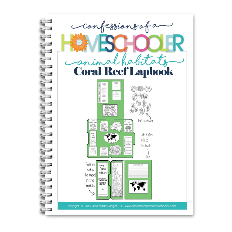 Animal Habitat: Coral Reef Lapbook PDF