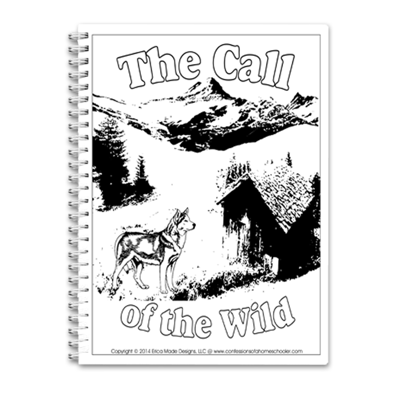 Call Of The Wild Unit Study Pdf Lit30 5 95 Confessions Of A Homeschooler Online Store For Printables Curriculum Preschool And More