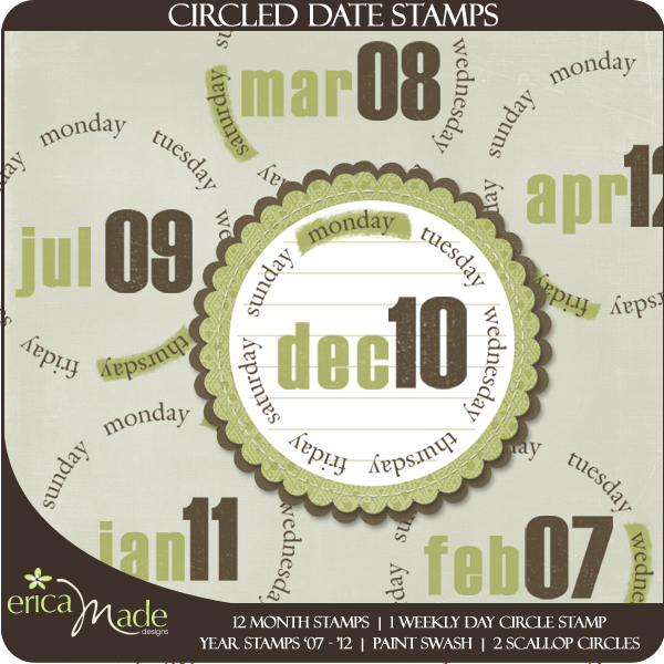 Circled Date Stamps