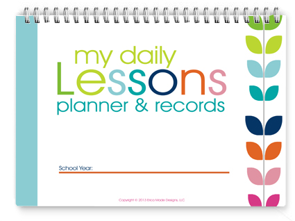 8x10 Lesson Planner - Colorful PDF