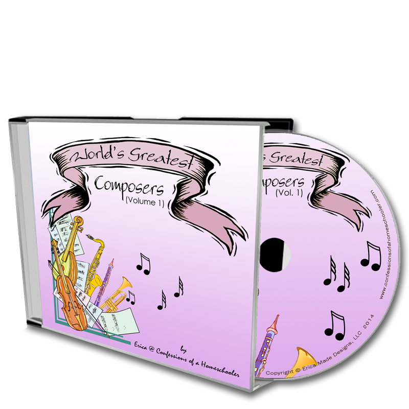 Worlds Greatest Composers Vol 1 - CD