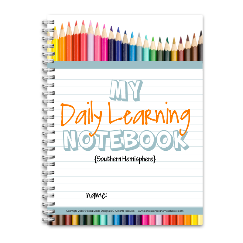 Daily Learning Notebook: Australia - PDF