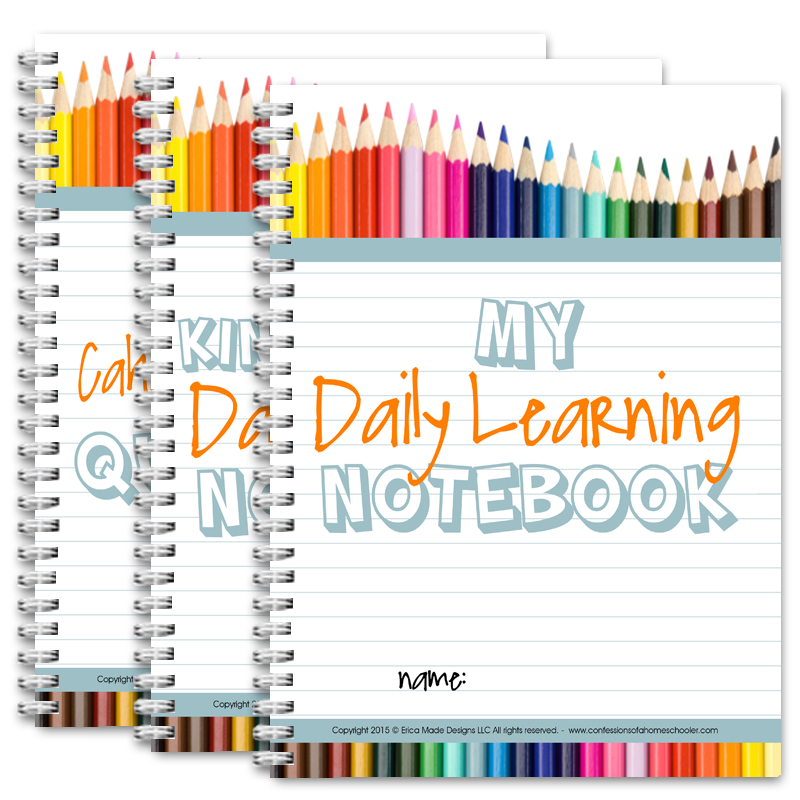 Daily Learning Notebooks