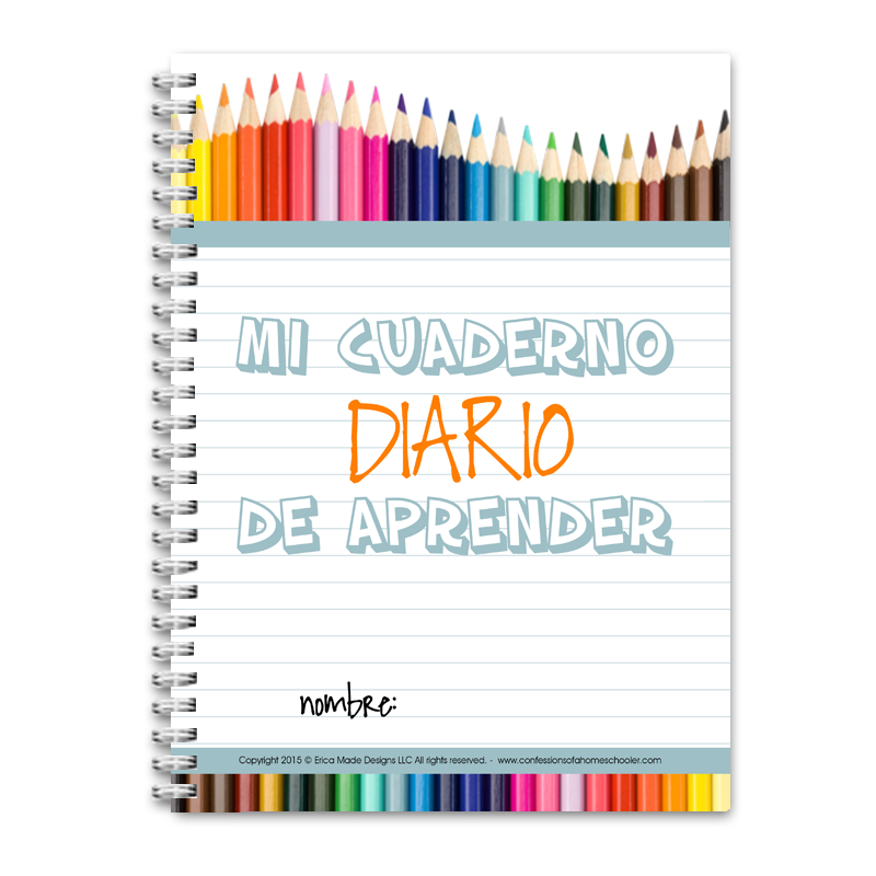 Daily Learning Notebook: Spanish - PDF