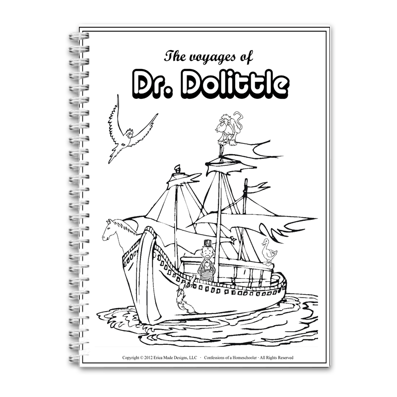 The Voyages of Doctor Dolittle Unit Study PDF