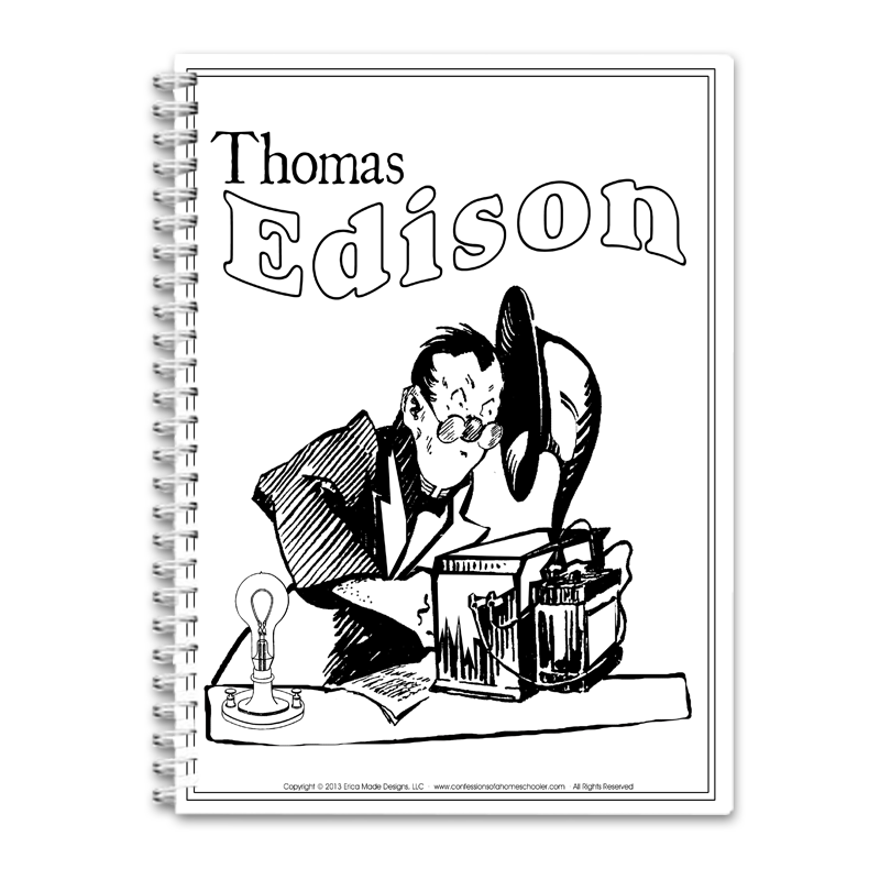 Thomas Edison Unit Study PDF