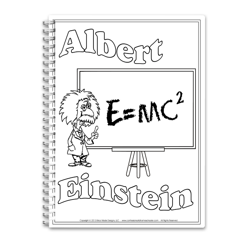 Albert Einstein Unit Study PDF