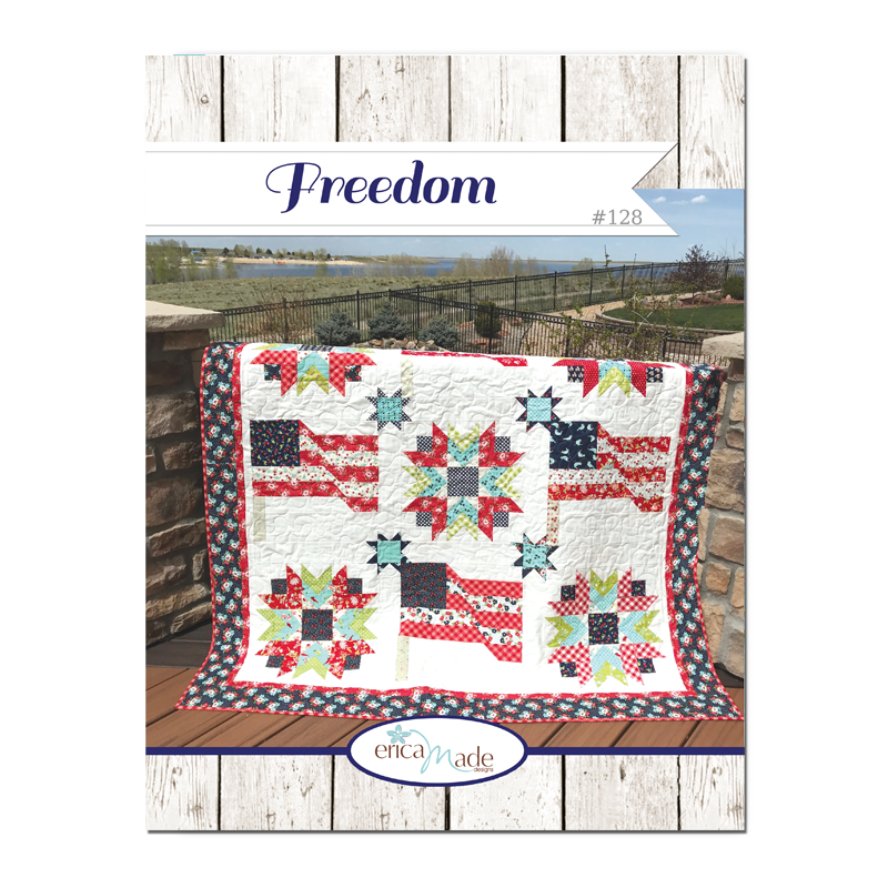 Freedom Quilt PDF Pattern #128