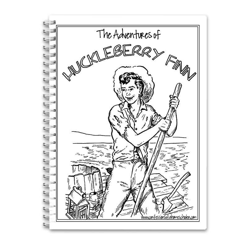 The Adventures of Huckleberry Finn Unit Study PDF