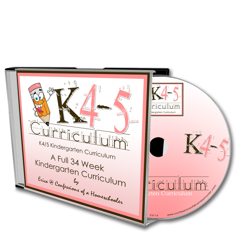 K4/K5 Kindergarten Curriculum - CD