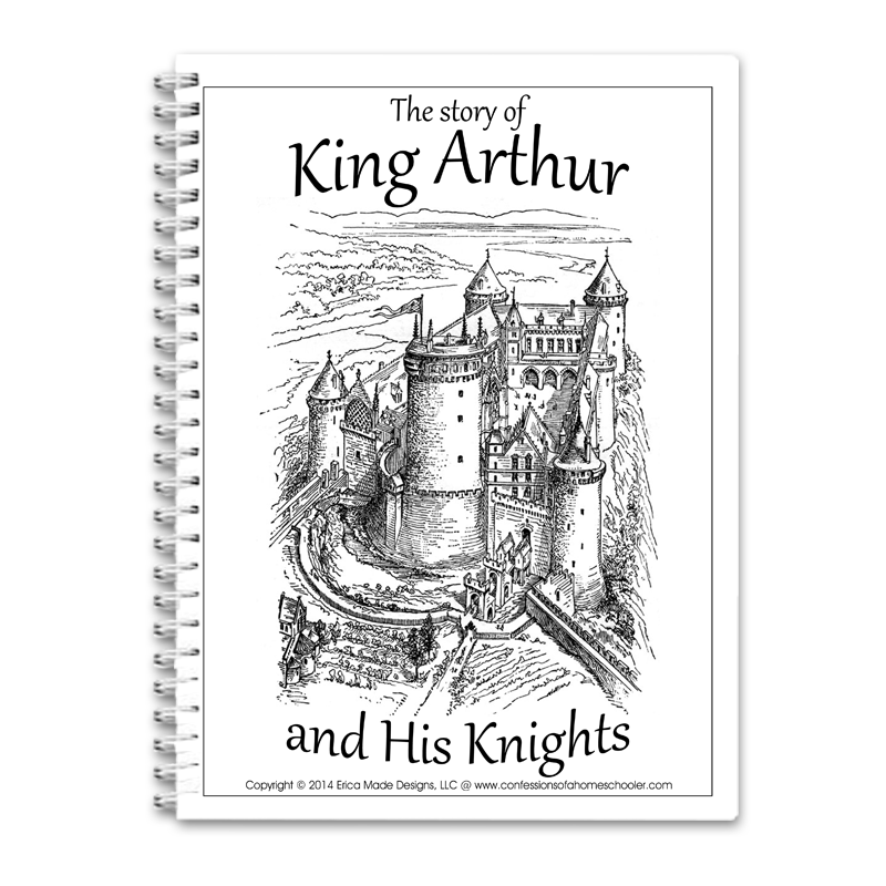 King Arthur & His Knights Unit Study PDF