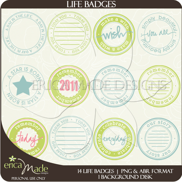 Life Badges - Click Image to Close