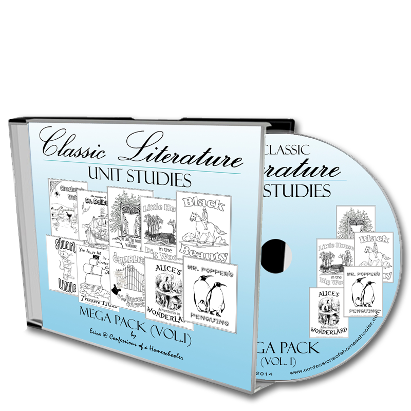 Classic Literature Mega Pack Vol. 1 - CD