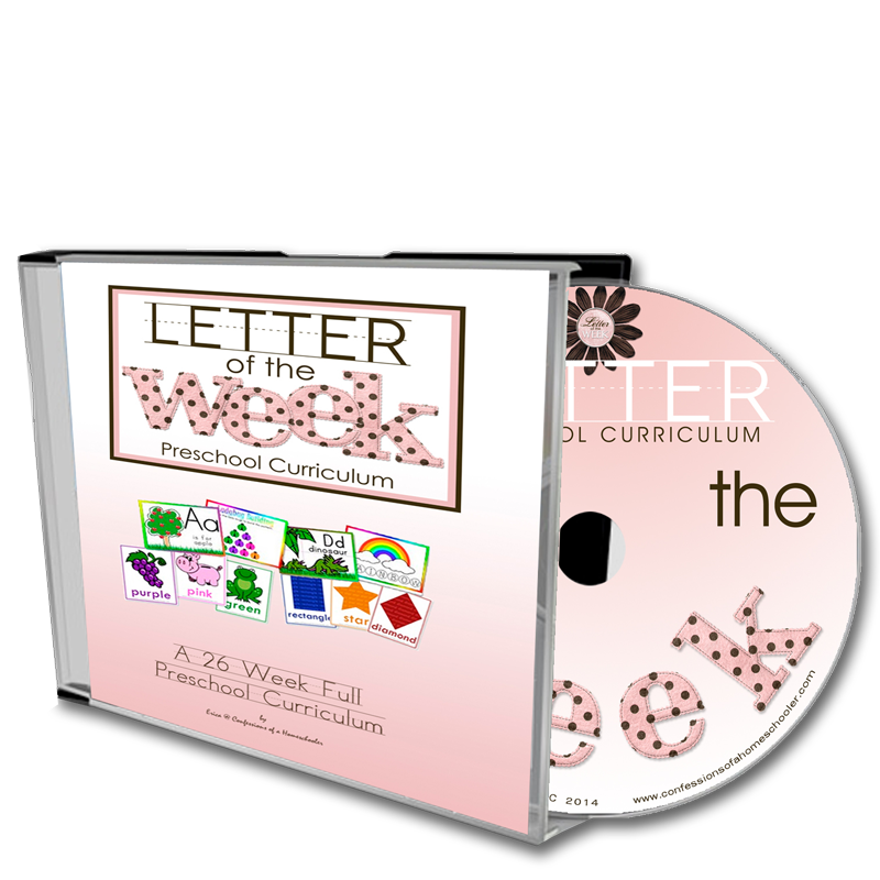 Letter of the Week - CD